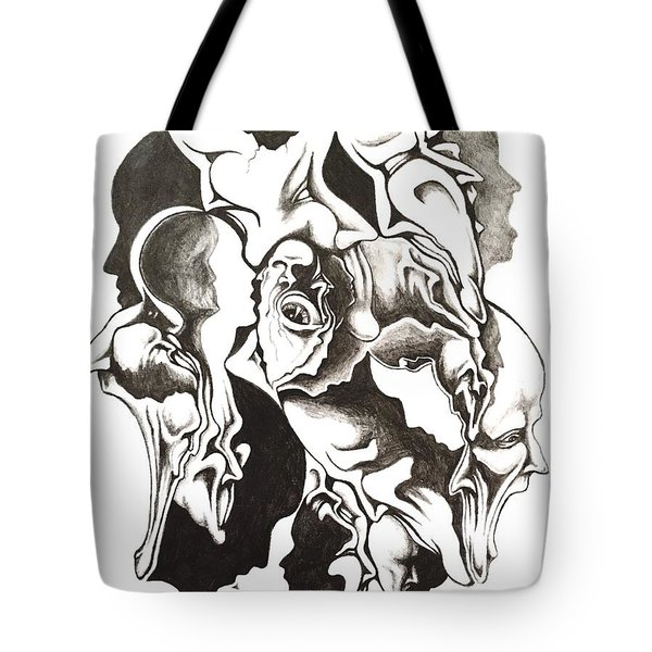 Evolution In Mind  Tote Bag