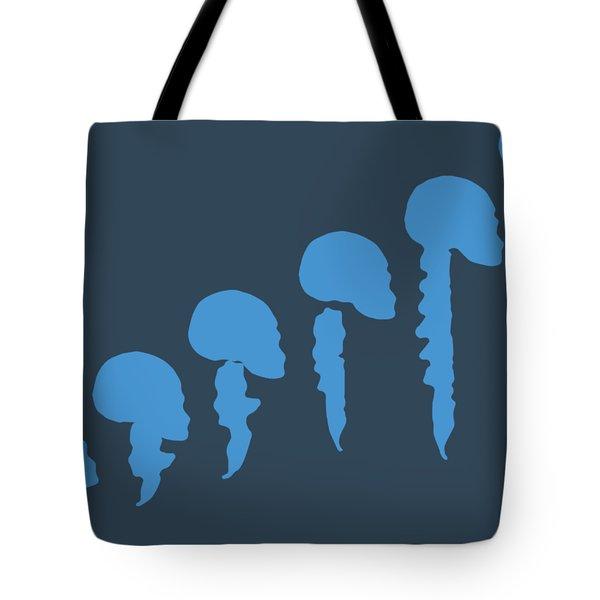 Evolution Of Spine Tote Bag