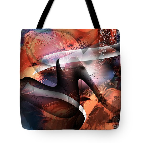 Deliverance Tote Bag by Yul Olaivar
