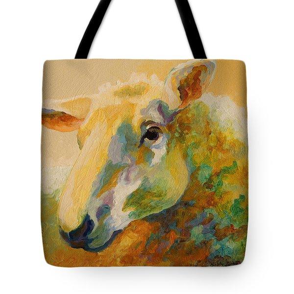 Ewe Portrait IIi Tote Bag