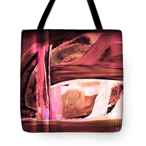 Tote Bag featuring the painting Dream Escape by Yul Olaivar