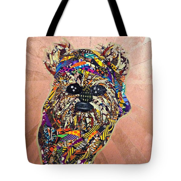 Ewok Star Wars Afrofuturist Collection Tote Bag
