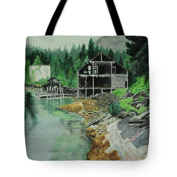 Ex-cannery Tote Bag