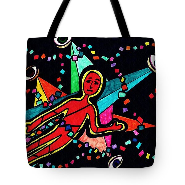 Examined Dissected Analyzed Tote Bag by Sarah Loft