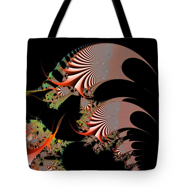 Tote Bag featuring the digital art Excetremen by Andrew Kotlinski