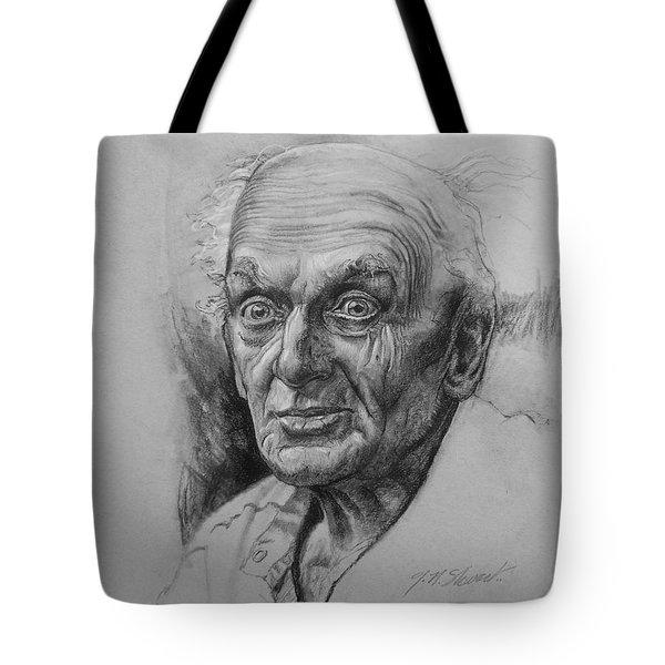 Excited Man Tote Bag