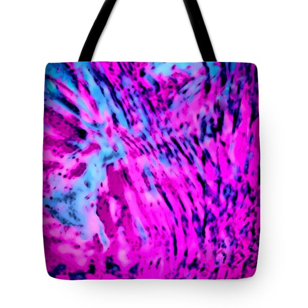Tote Bag featuring the digital art Exciting  by Gayle Price Thomas