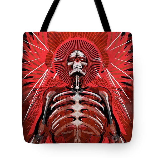 Excoriation Tote Bag