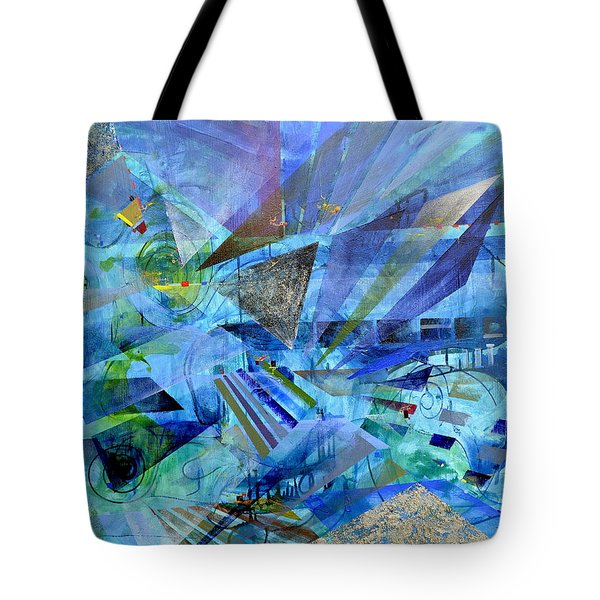 Excursions Of Vision Tote Bag
