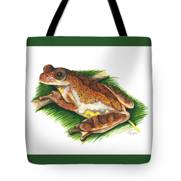 Executioner Treefrog Tote Bag