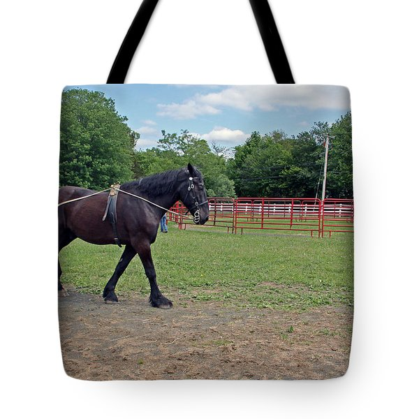 Exercising Tote Bag