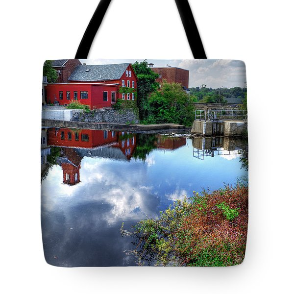 Exeter New Hampshire Tote Bag by Rick Mosher