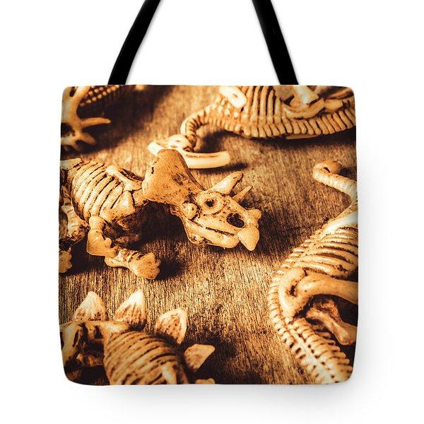Exhibition In Prehistoric Art Tote Bag