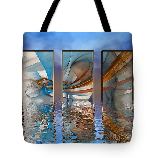 Exhibition Under The Sky Tote Bag