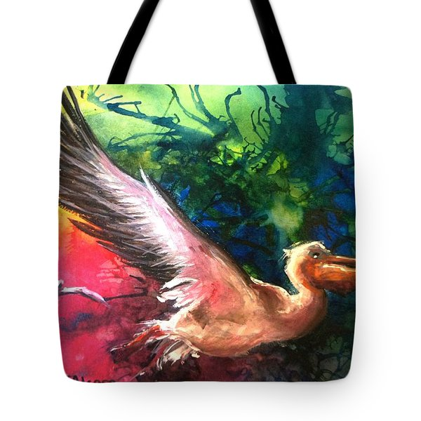 Exhilarated - Original Sold Tote Bag