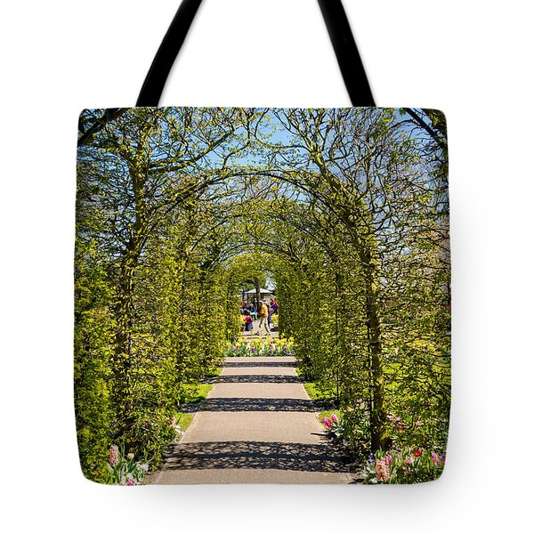 Exit From The Tunnel, Keukenhof Tote Bag