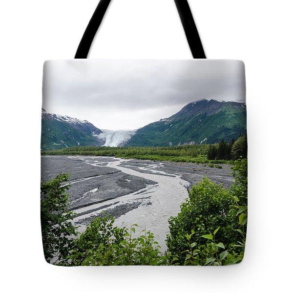Exit Glacier Tote Bag