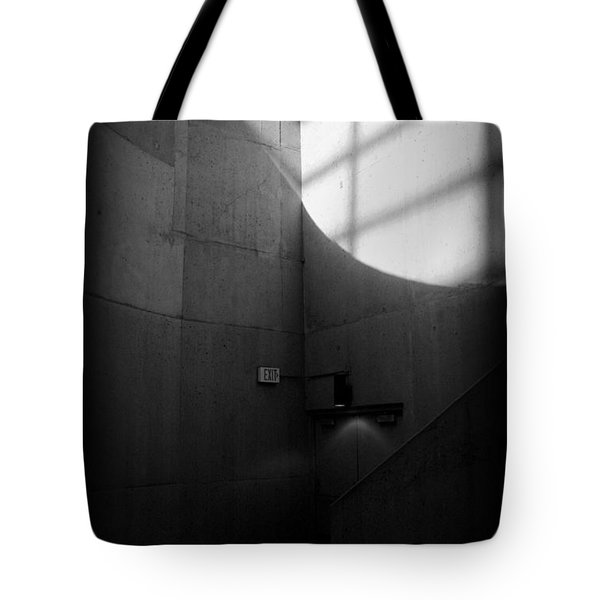 Exit Tote Bag by Lucas Boyd