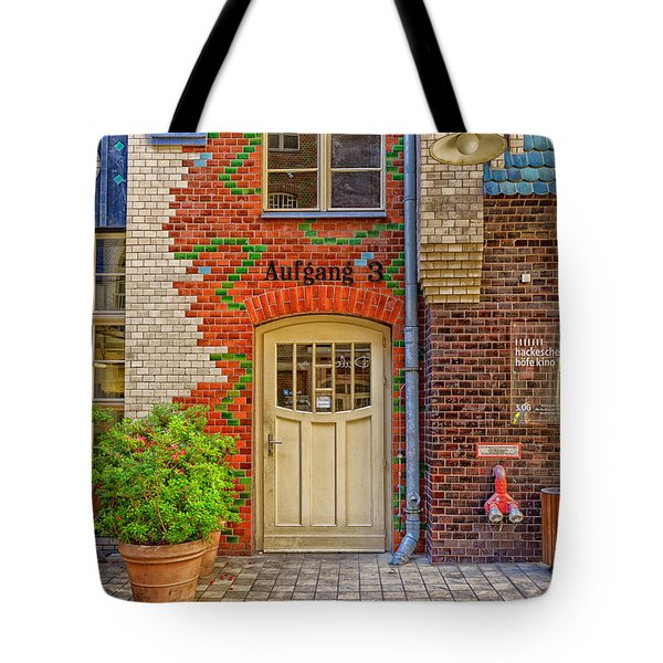 Tote Bag featuring the photograph Exit No. 3 by Uri Baruch