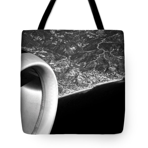 Exit Row - Window Seat Tote Bag by Gwyn Newcombe