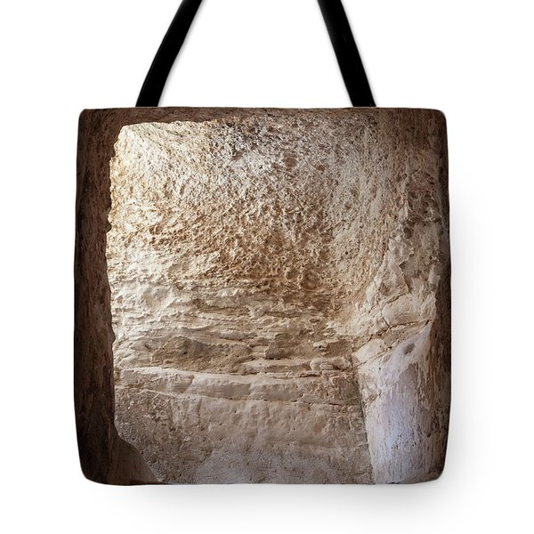 Exit To The Light Tote Bag by Yoel Koskas