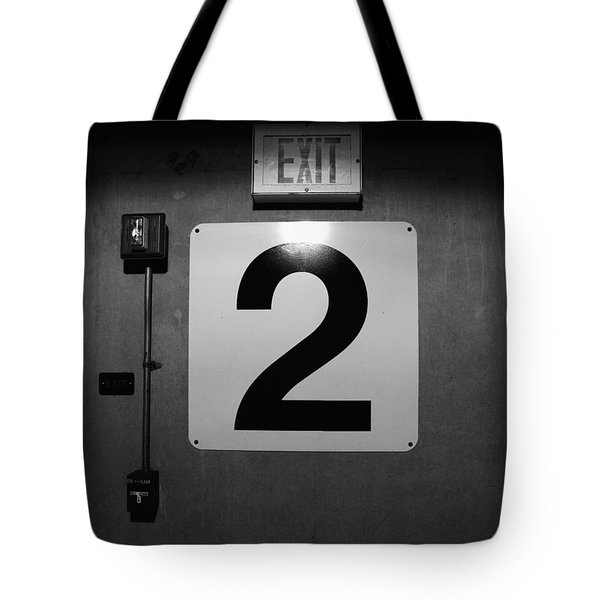 Exit Two Tote Bag