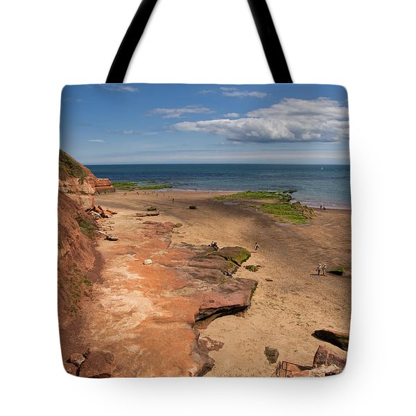Exmouth Near Orcombe Point Tote Bag