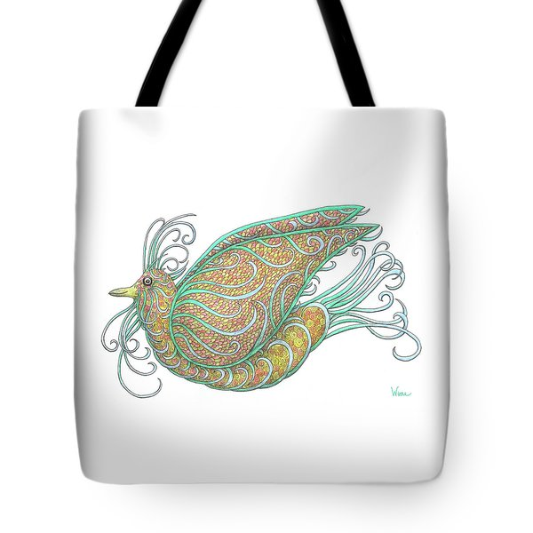 Exotic Bird IIi Tote Bag