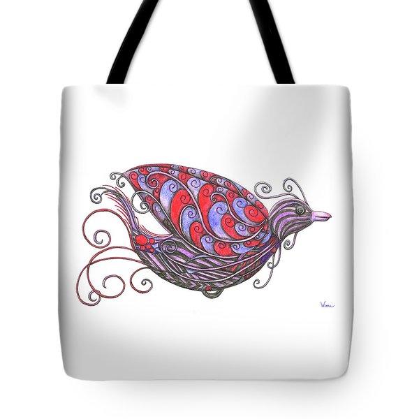 Exotic Bird V Tote Bag