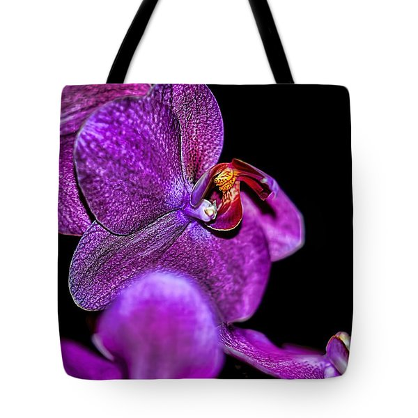 Tote Bag featuring the photograph Exotic by Diana Mary Sharpton