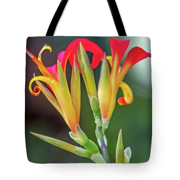 Tote Bag featuring the photograph Exotic Flowers by Kate Brown