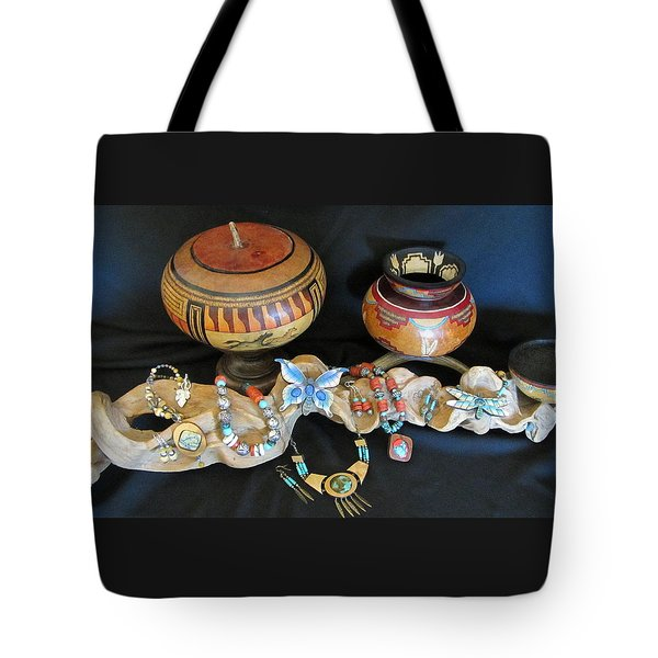 Exotic Gourds Tote Bag by Barbara Prestridge