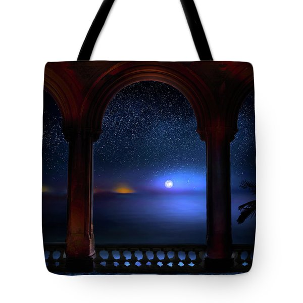 Tote Bag featuring the photograph Exotic Night by Mark Andrew Thomas
