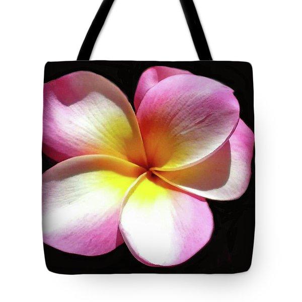 Exotic Plumeria Tote Bag