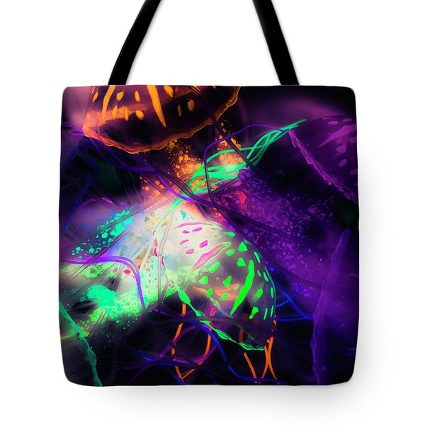 Exotic Rainbows Tote Bag