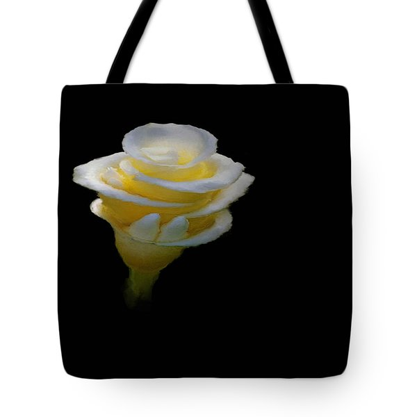 Exotic White Bloom Tote Bag