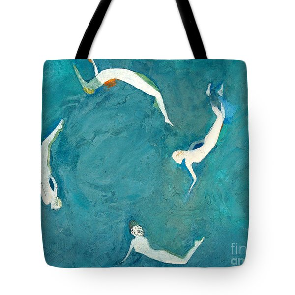 Expanded Circles Tote Bag by Lisa Baack