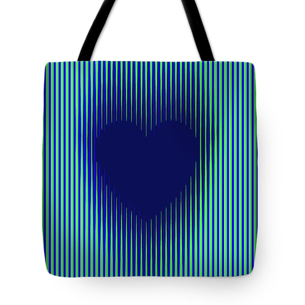 Expanding Heart 2 Tote Bag