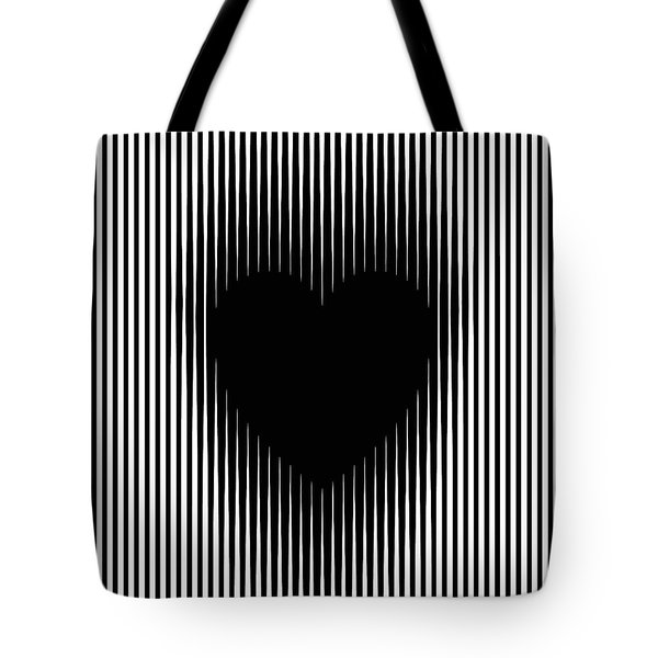 Expanding Heart Tote Bag