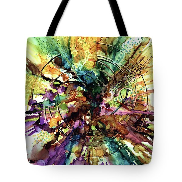Expanding Universe Tote Bag by Alika Kumar