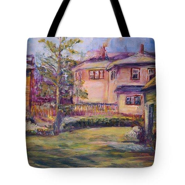 Upstairs Window Tote Bag