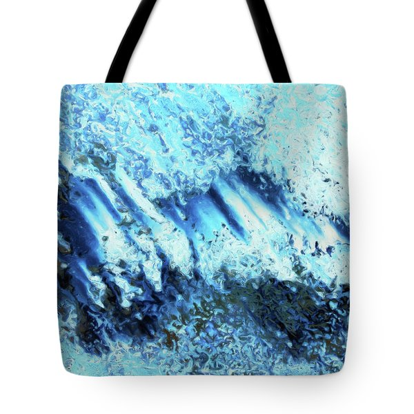 Tote Bag featuring the digital art Expansive by Tom Druin