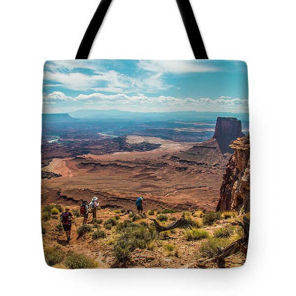 Expansive View Tote Bag