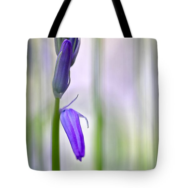 Expecting Bluebell Tote Bag