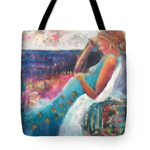 Expecting Tote Bag