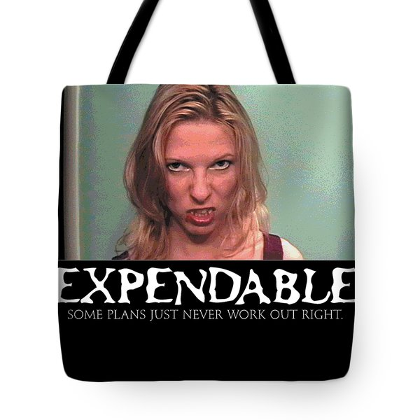 Expendable 10 Tote Bag