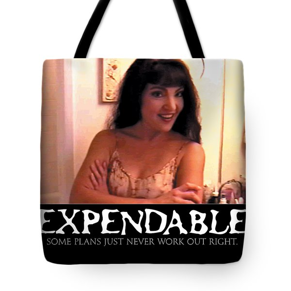 Expendable 12 Tote Bag