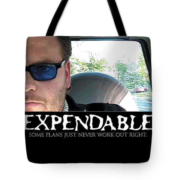 Expendable 3 Tote Bag