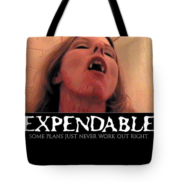 Expendable 8 Tote Bag
