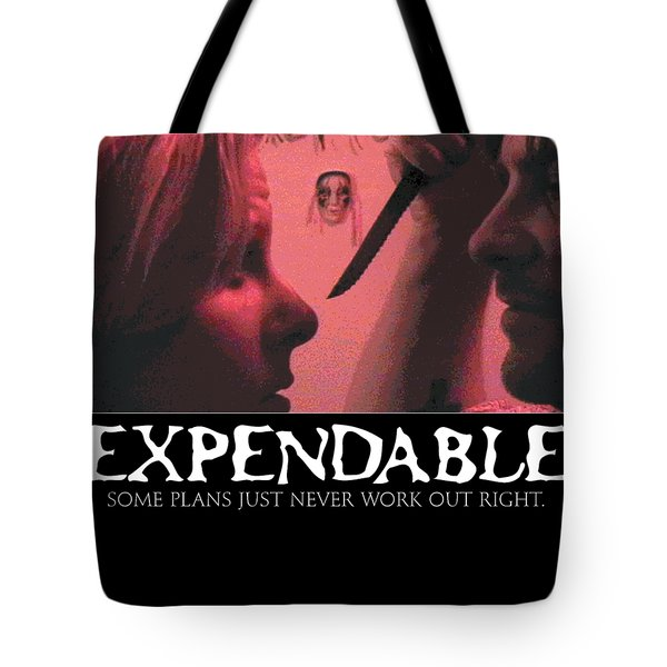 Expendable 9 Tote Bag